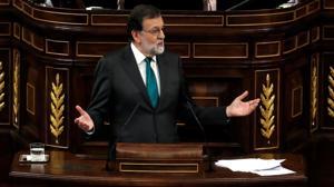 Mariano Rajoy se enfrenta a la moción de censura este jueves