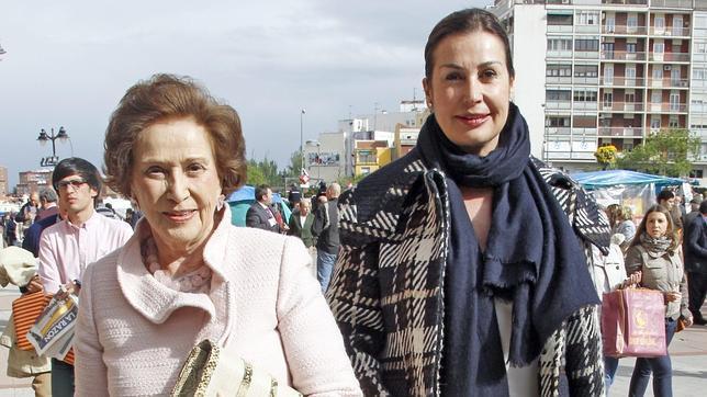 Carmen Franco: «¿Mi secreto para sentirme joven? Tener ilusión y... unas buenas piernas»