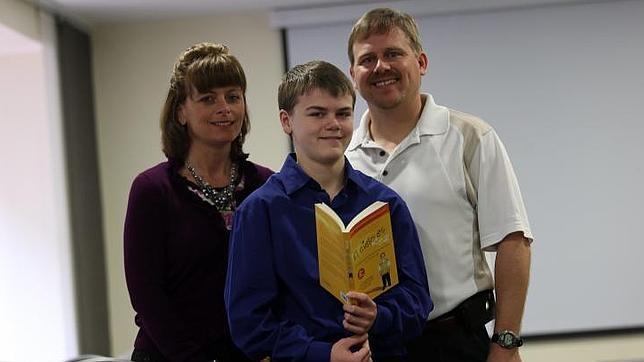 Un niño de Nebraska relata su viaje al cielo durante una operación de peritonitis