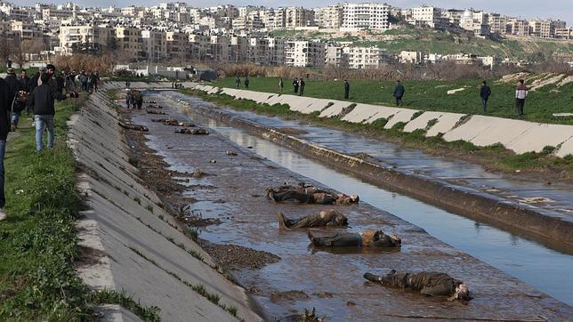 Al menos 68 muertos en una nueva ejecución masiva en Alepo