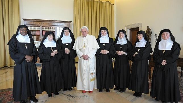 «Que Benedicto XVI viva en nuestro convento es un gesto de su sencillez»