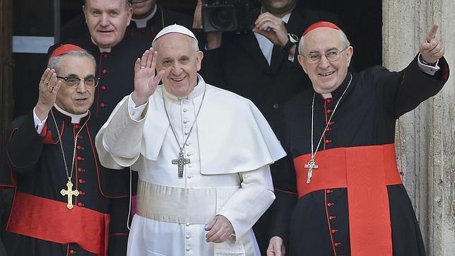 El nuevo Papa visitó la basílica española de Roma a las ocho de la mañana