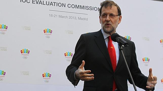 Rajoy: «Estamos preparados y dispuestos a organizar los Juegos»