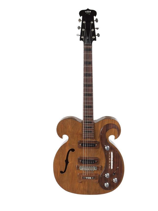 La guitarra eléctrica que va a ser subastada