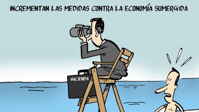 La economía sumergida en España alcanzará los 195.600 millones en 2013