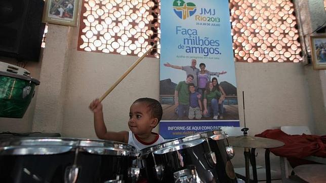 Francisco visitará una favela y recibirá a reclusos en la jornada Mundial de la Juventud de Río de Janeiro