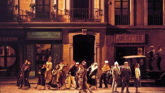 El Teatro de la Zarzuela se convierte en el refugio de los artistas españoles