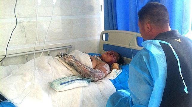 Al menos 119 muertos en el incendio de un matadero de aves en China