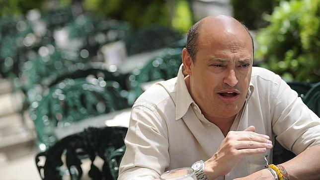 Eric Frattini, durante la entrevista