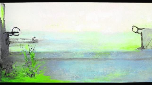 Pintura «Peine del viento», de Zao Wouki