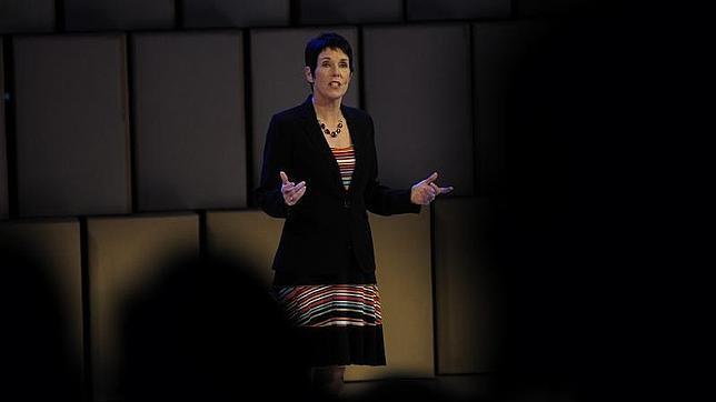 La directora de Cirque du Soleil Lyn Heward durante su intervención en el Foro Impulsa