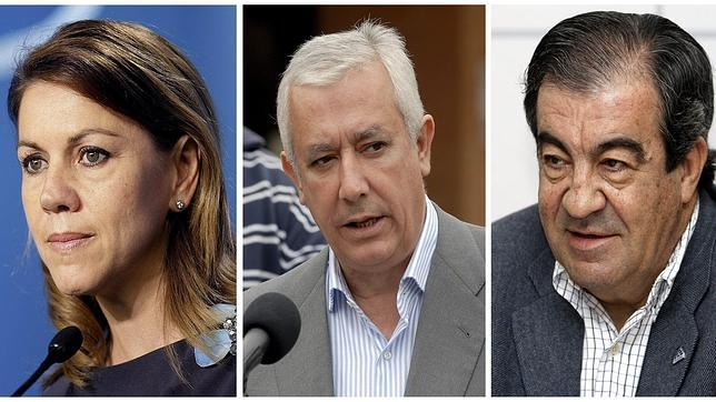 El PSOE pide un careo de Cospedal, Arenas y Cascos con Bárcenas