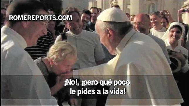 La espontaneidad del Papa Francisco