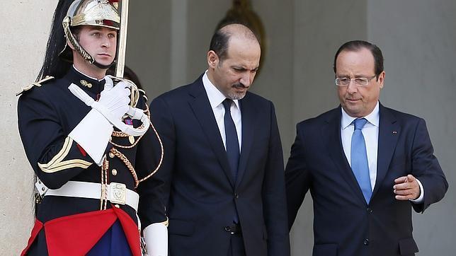 Hollande pidió en 2003 el voto sobre Irak y hoy se opone a que la Asamblea vote sobre Siria