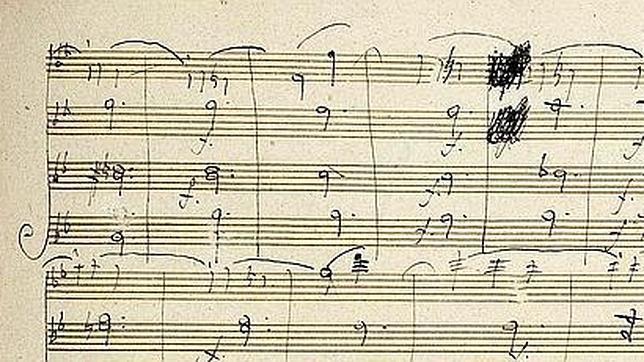 La partitura que podría conducir al desaparecido oro de los nazis