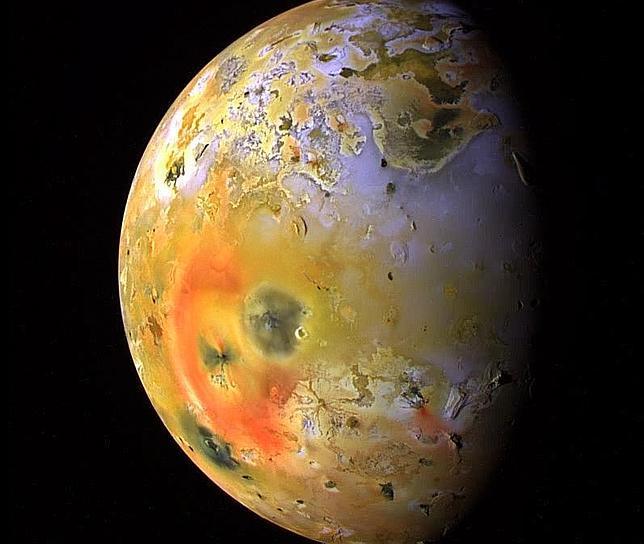 Una luna de Júpiter, como la Tierra hace 4.000 millones de años