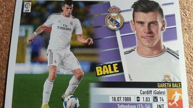 El cromo de Bale revienta el «mercado negro»