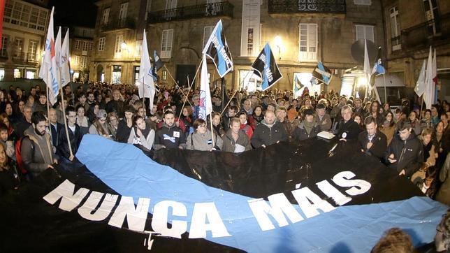 Nunca Máis vuelve a la calle con miles de gallegos para clamar contra «la impunidad»