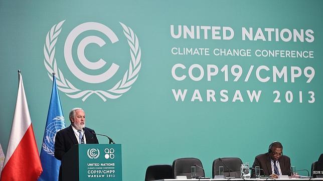 El ministro español de Agricultura, Alimentación y Medio Ambiente ante el plenario de la XIX Conferencia de las Naciones Unidas sobre Cambio Climático