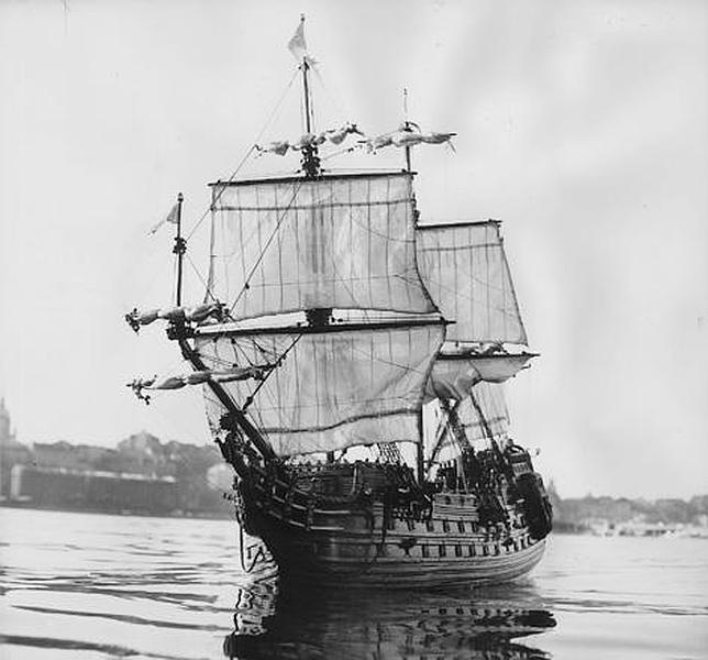 La moneda que causó la maldición del Vasa en 1628