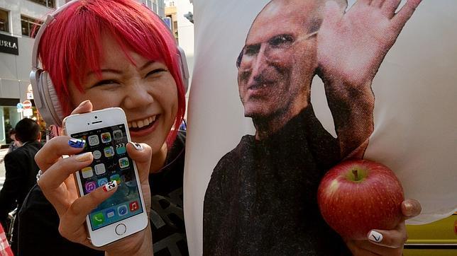 Uno de cada diez iPhones es un iPhone 5S