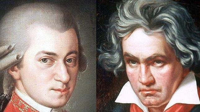 Mozart adelanta a Beethoven