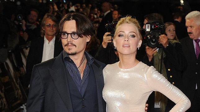 Johnny Depp se compromete con Amber Heard, 23 años más joven que él