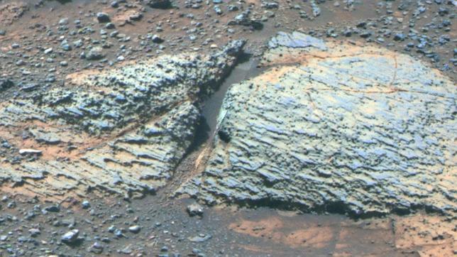 El Opportunity halla una nueva zona en Marte que pudo ser habitable