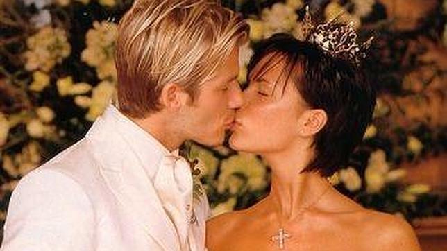 Beckham, David Ghetta y Kim Kardashian, entre los famosos que renovaron sus votos matrimoniales