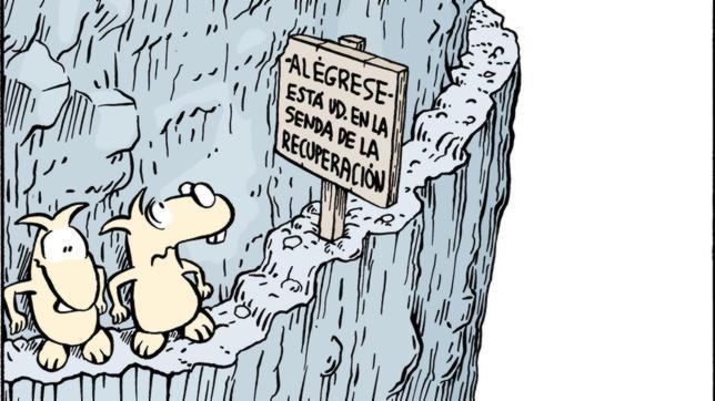 Santiago Carbó: «Recuperación a empujones»