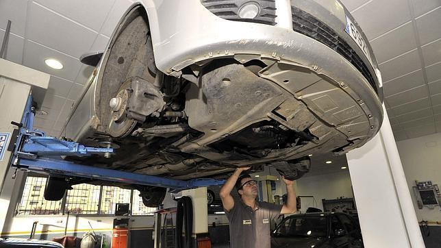 La reparación del taller tiene una garantía de tres meses