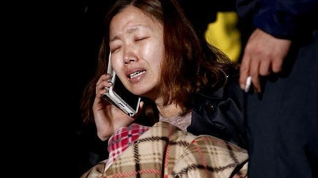 Una pasajera del barco surcoreano: «Mamá, esta es mi última oportunidad para decirte que te quiero»