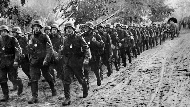 Soldados nazis en 1939