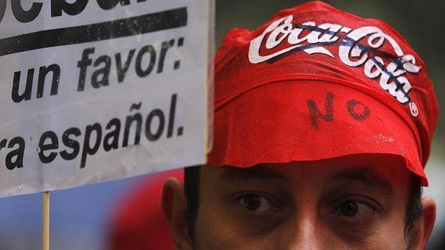 Las ventas de Coca-Cola bajaron un 50% en la zona centro por el boicot del ERE