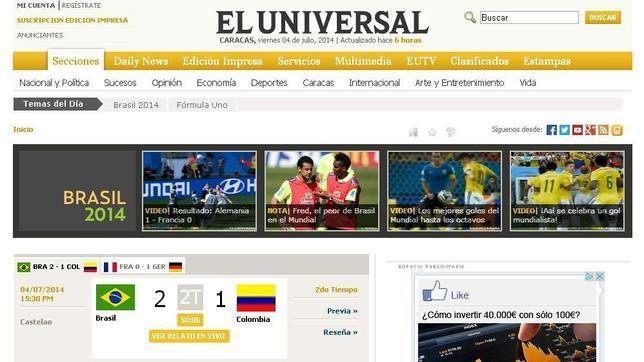 Una empresa española compra el periódico venezolano El Universal