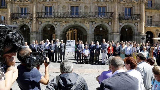 Salamanca rinde homenaje a Miguel Ángel Blanco