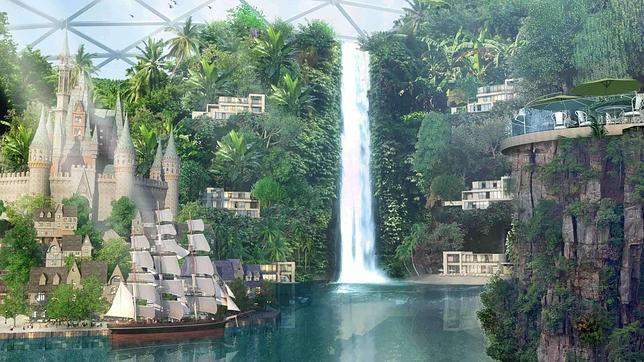 The Mall of the World, la primera mini ciudad cubierta y con la temperatura regulada