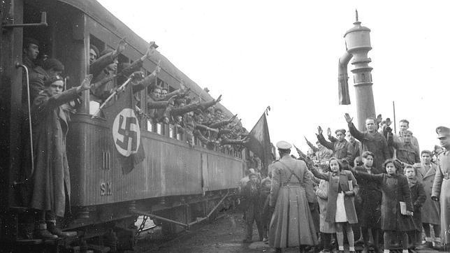 Los españoles que combatieron junto a Hitler en el búnker de Berlín