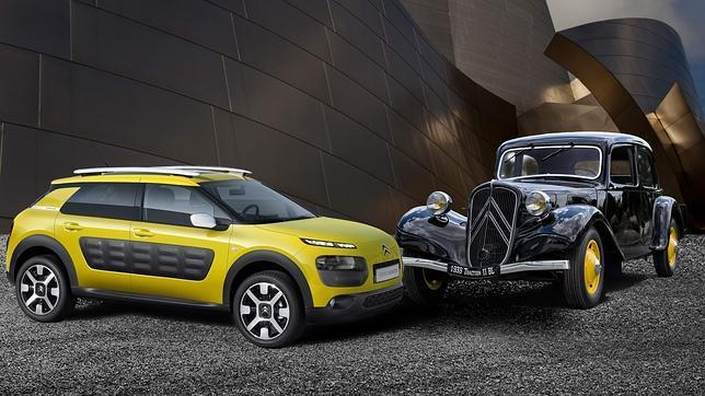 Traction Avant y C4 Cactus, dos hitos en la historia de Citroën y el automóvil
