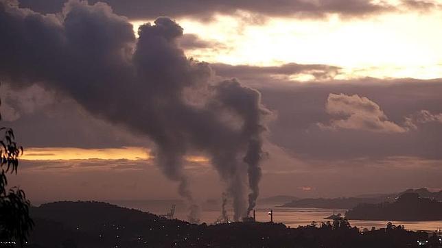 Contaminación en la Ría de Pontevedra