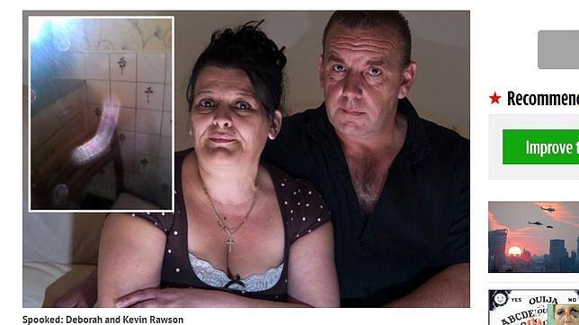 Al no saber qué hacer, la pareja terminó llamado a un exorcista