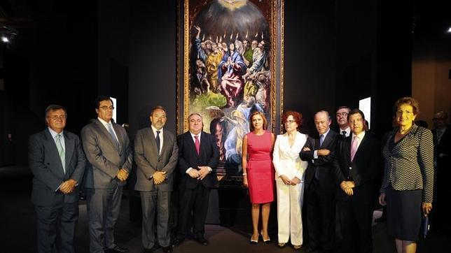 Cospedal inauguró la muestra este lunes en el Museo de Santa Cruz de Toledo