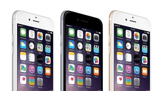 El iPhone 6 Plus, frente a los «phablets» rivales como Galaxy Note 4