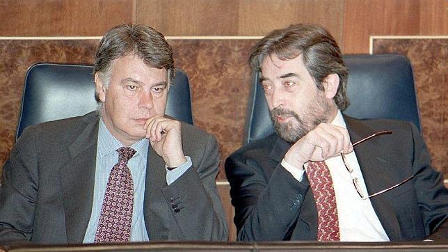 Belloch, cuando era ministro de Felipe González