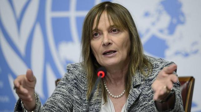 La subdirectora general de la Organización Mundial de la Salud (OMS), Marie Paule Kieny