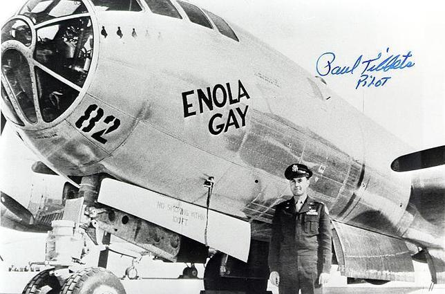 El Enola Gay, el mítico B-29 que sobrevoló Hiroshima