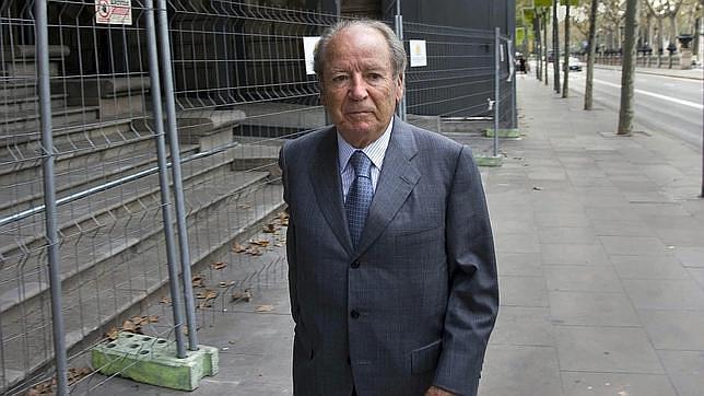 El expresidente del FC Barcelona José Luis Núñez
