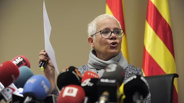 Ana Malgadi, fiscal jefe de Barcelona, ayer