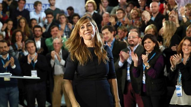 Alicia Sánchez-Camacho, en el acto de este sábado