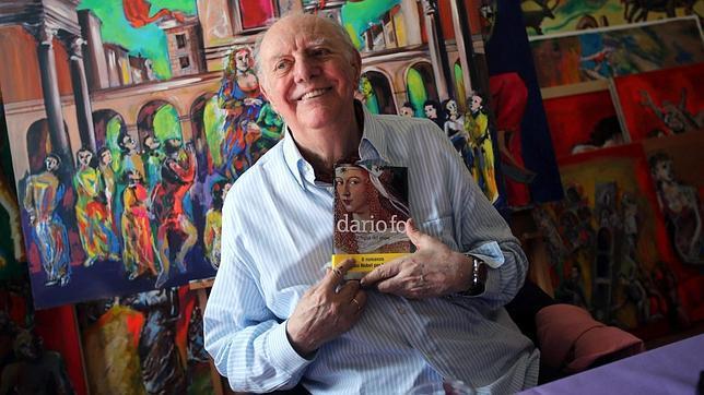 Dario Fo, con su libro